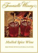 Tomasello Winery Mulled Spice Wine 750ml - Case of 12